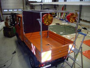 Gestell Fahrzeug