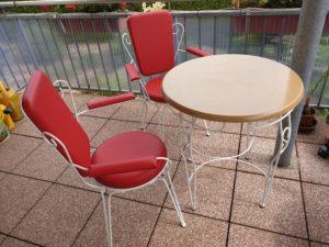 Polsterei – Stühle neu bezogen